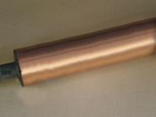 Cilindro Cobreado de Impressora Rotativa para Máquina