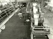 Impressora e Dobradeira de Rotativa para Manutenção, Montagem, Máquina, Jornal