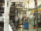 Impressora e Dobradeira de Rotativa para Projeto, Sobreposição, Máquina, Jornal